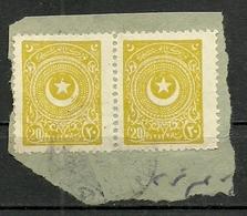Turkey; 1924 2nd Star&Crescent Issue Stamp 20 P. - 1921-... Republiek