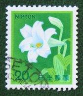 20 Bloemen Flower Fleur Blume 1982 Mi 1518 Y&T 1430 Used Gebruikt Oblitere JAPAN JAPON NIPPON - 1926-89 Emperor Hirohito (Showa Era)