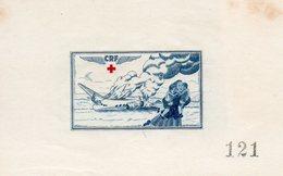 Vignette Croix Rouge N°121 - Commemorative Labels
