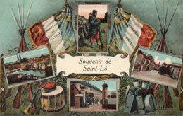 - 50 - Souvenir De Saint-Lô - Cpa Très Bon état - - Saint Lo