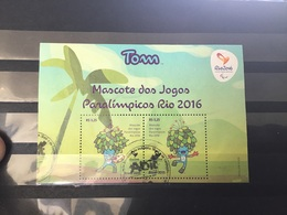 Brazilië / Brazil - Sheet Paralympische Spelen 2015 - Gebruikt