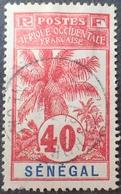R3536/1211 - 1906 - COLONIES FR. - SENEGAL - N°40 ☉ - CàD - Sénégal (1887-1944)