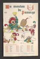 Collezionismo - Menu Ristorante Au Mouton De Panurge - Parigi - 1957 - Menu