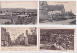 EURE - Lot De 135 Cartes Postales Anciennes Petit Format - France