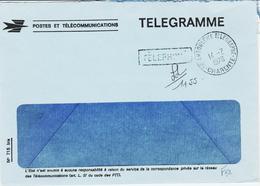 France, Angoulème Télégraphe , Télégramme Téléphoné En 1978   TB - Marcophilie (Lettres)