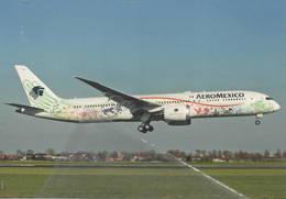 Aeromexico - Quetzalcoalt N/c B787-9 Dreamlines XA-ADL At AMS C/S - 1946-....: Era Moderna