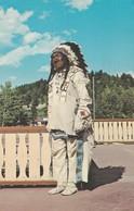 Chief Eagle Ribs , St Mary Lodge , Glacier Park , Montana , 1972 - Native Americans