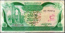 Libia-003 - Quarto Di Dinaro - - Libya