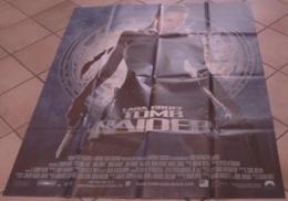 AFFICHE CINEMA ORIGINALE FILM LARA CROFT : TOMB RAIDER Angelina JOLIE VOIGHT CRAIG TBE 2001 - Posters