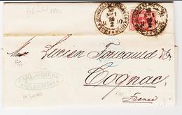 Finlande D'helsinki En 1880, , Entrèe Bleu:  Russie , Erquelines Paris  TB - 1856-1917 Administration Russe