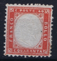Italy:  Sa 3 Mi 11 MH/* Flz/ Charniere - 1861-78 Victor Emmanuel II.