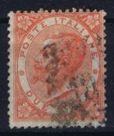Italy:  Sa 22 Mi 22 Obl./Gestempelt/used - 1861-78 Vittorio Emanuele II