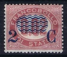 Italy:  Sa 29 Mi 29 MH/* Flz/ Charniere 1878 - 1861-78 Victor Emmanuel II.