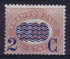 Italy:  Sa 34 Mi 34 MH/* Flz/ Charniere 1878 - 1861-78 Victor Emmanuel II.