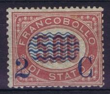 Italy:  Sa 35 Mi 35 MH/* Flz/ Charniere 1878 - 1861-78 Victor Emmanuel II.