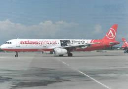 Atlas Global Airlines - Turchia A321-200 TC-ETN AtlasGlobal - 1946-....: Era Moderna