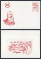 Belgie Belgique Belgium 1986 Cover Brief Enveloppe - Leopold II, Création De L'État Indépendant Du Congo - Treinen