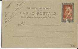 1924 - JEUX OLYMPIQUES De PARIS - CARTE ENTIER POSTAL YVERT N°185-CP1 NEUVE - COTE = 125 EUROS - Postal Stamped Stationery
