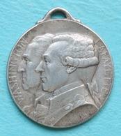 France - Médaille Journée De Paris 1917 Washington - La Fayette Par Gaston Lavrillier - France