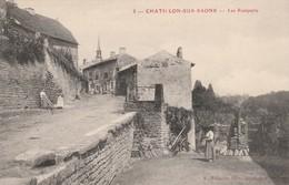 CHATILLON-SUR-SAONE : (88) Les Remparts - Autres Communes