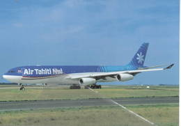 Air Tahiti Nui A340-313  F-OJGF Polinesia Francese A.340 - 1946-....: Era Moderna