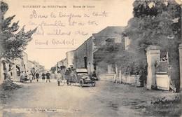 85-SAINT-FLORENT-DES-BOIS- ROUTE DE LUCON - Saint Florent Des Bois