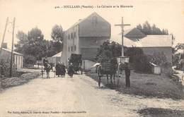 85-SOULLANS- LE CALVAIRE ET LA MINOTERIE - Soullans