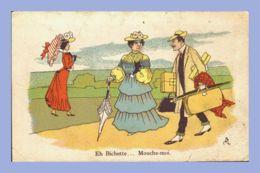 Carte Humour -  - Eh Bichette … Mouche-moi - Humour