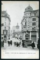 GENEVE - FONTAINE DE L'ESCALADE ET TOUR DE L'ILE - GE Genève