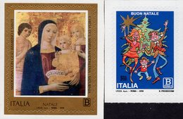 Italy - 2018 - Christmas - Mint Self-adhesive Stamp Set - 6. 1946-.. Repubblica