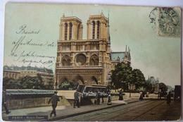 Paris - Notre Dame (voyagée En 1907) - Notre Dame De Paris