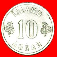 + GREAT BRITAIN BIRCH (1946-1969): ICELAND ★ 10 ORE 1958! LOW START ★ NO RESERVE! - Islandia