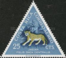 USED STAMPS Costa-Rica - Airmail - Mammals -  1963 - Costa Rica