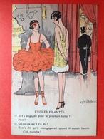 Illustrateur A. GAILLARD - ETOILES FILANTES - VALLENDE STERREN - HUMOR - HUMOUR - BALLET - Illustrateurs & Photographes