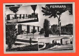 Ferrara Piazza Dei Partigiani E Via XXV Aprile  Cpa 1959 Messaggino D'amore Nascosto Al Retro - Ferrara