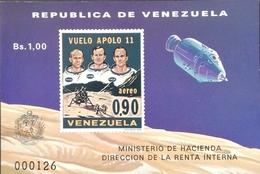 Venezuela 1969 Apolo Ii S/S - Venezuela