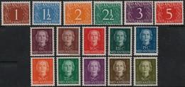 ~~ Netherlands Antilles 1950  - Definitives Between NVPH  218 And 229 * MH - CV 76.00 Euro  ~~~ - Curacao, Netherlands Antilles, Aruba