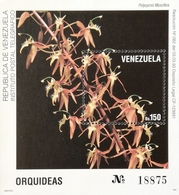 Venezuela  1993 Orchid S/S - Venezuela