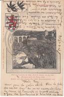 Luxembourg - Pont De L'enceinte De 1360. Pont De Chemin De Fer (cliché J B Fischer, Edit. Jos Fischer Ferron, 1904) - Luxembourg - Ville