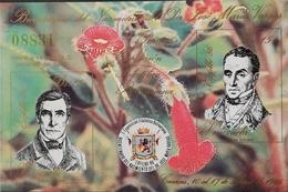 "Venezuela  1986 EXFILBO""86 IMPERF S/S - Venezuela"