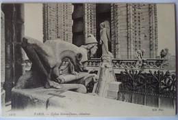 Paris - Eglise Notre Dame - Chimères (numéro 1217) - Notre Dame De Paris