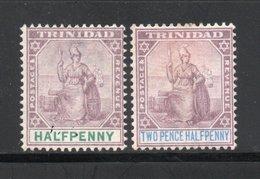 YT 44 ** ET YT 46* - Trinidad & Tobago (...-1961)