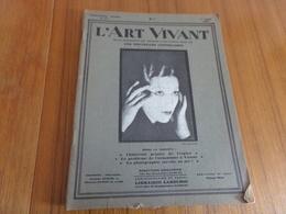 """Revue """" L'art Vivant """" N° 111 Du 1 Août 1929 """" Chintreuil Peintre De L'espace ... """" - 1900 - 1949"""