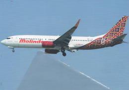 Malindo Airways - Malaysia B737-800 9M-LCD B.737 - 1946-....: Era Moderna