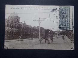Carte Postale  - Rue De Chatam - Office Travaux Publics COLOMBO - 1926 (2737) - Sri Lanka (Ceylon)