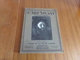 """Revue """" L'art Vivant """" N° 108 Du 1 Juin 1929 """" Dates De La Vie De Courbet """" - 1900 - 1949"""