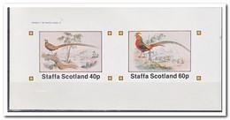 Staffa 1982, Postfris MNH, Birds, Pheasant - Regionale Postdiensten