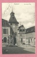 67 - ROSHEIM - Nels Série 311 N° 6 - Am Oberen Thor - Frankreich