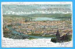 Zürich - Blick Von Der Waid 1900 - ZH Zurich