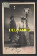 DD / COUPLES / AGNEAU ET LOUP ( JEUNE FEMME ET SATYRE ) / 1906 - Couples